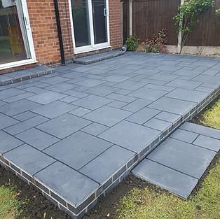 Charcoal Limestone Patio's