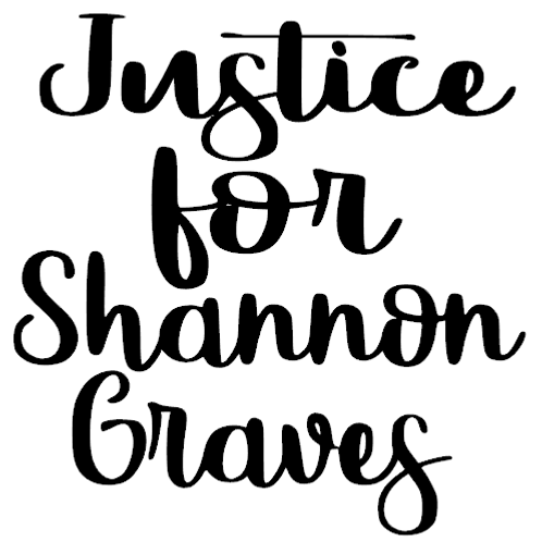 justice for shannon graves decal 2