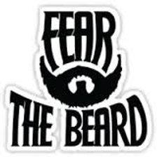 fear the beard decal 3