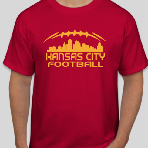 kansas city football custom shirt