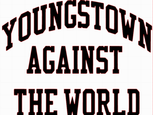 youngstown vs. world decal