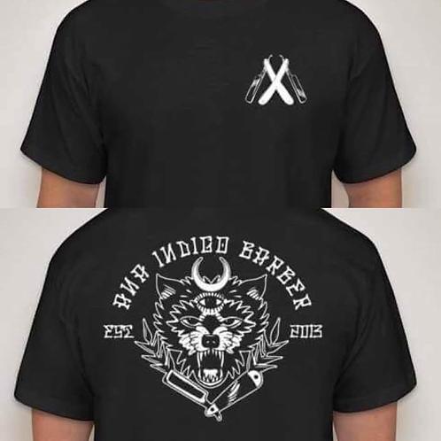 wolf logo shirt