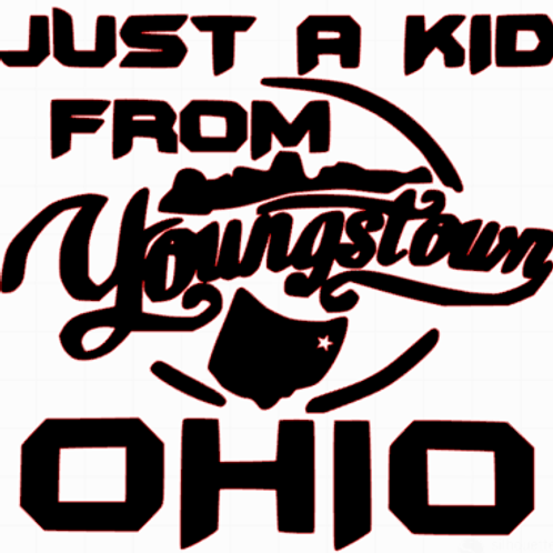 just a kid decal