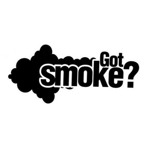got smoke decal