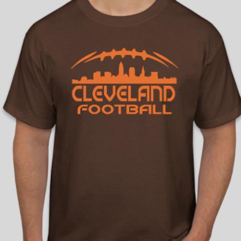 cleveland football custom shirt