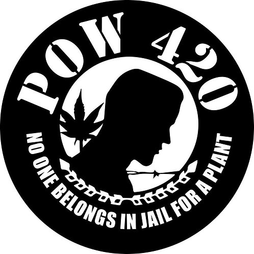 pow 420 decal