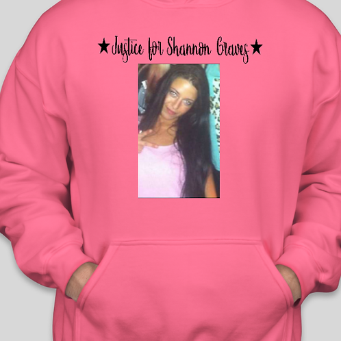 justice for shannon graves hoodie