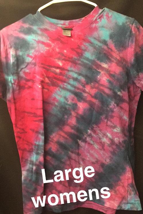 tie dye - large womens