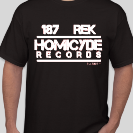 187 records shirt