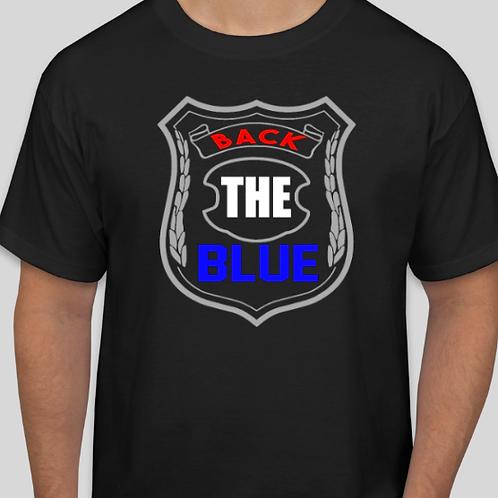 back the blue badge