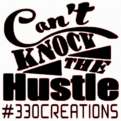 cant knock hustle decal