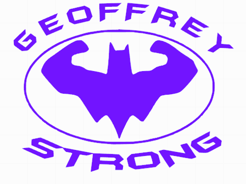 Geoffrey Strong decal