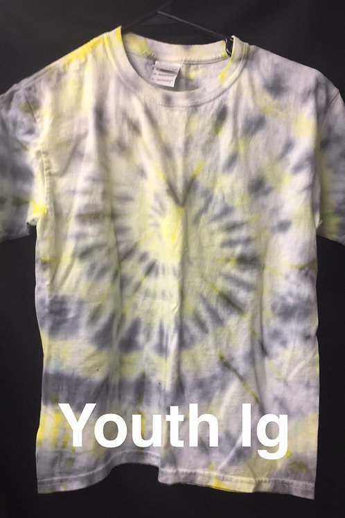 tie dye - youth large