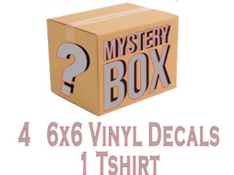 Silver mystery box