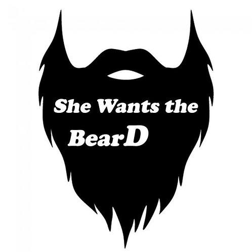 she wants the bearD decal
