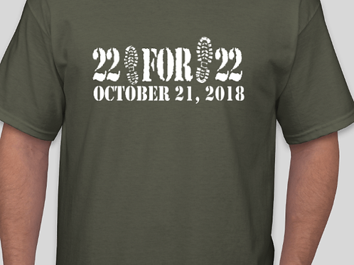 22 for 22 shirts
