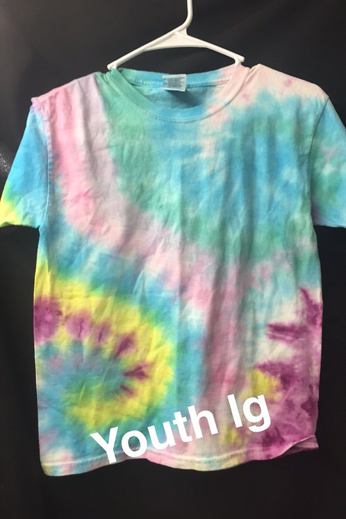 tie dye - youth lg