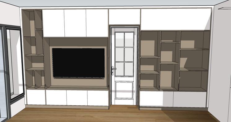 Projet meuble TV