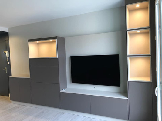 Meuble TV sur mesure salon