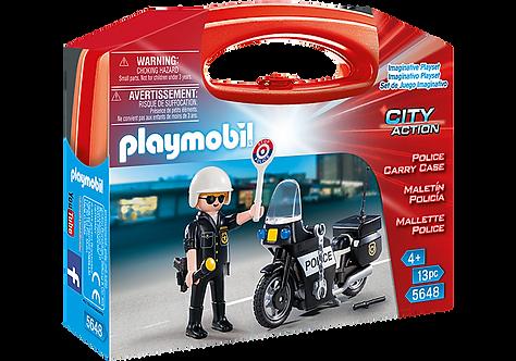 Βαλιτσάκι Αστυνόμος με μοτοσικλέτα