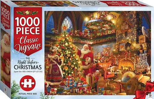 Night Before Christmas 1000-piece Jigsaw