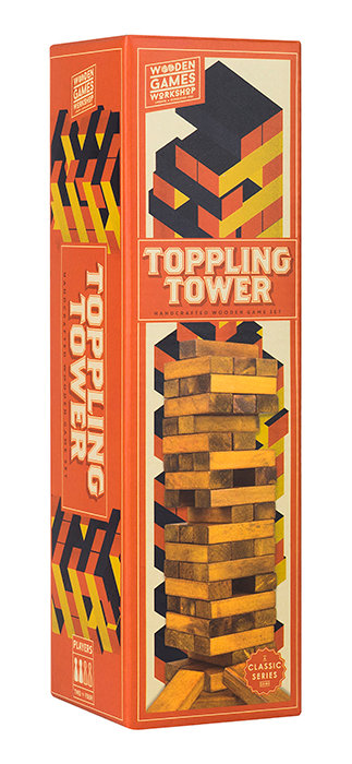 Toppling Tower WOODEN GAMES WORKSHOP