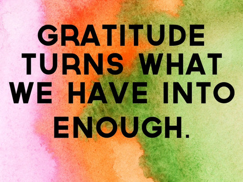 Having Trouble feeling Grateful?