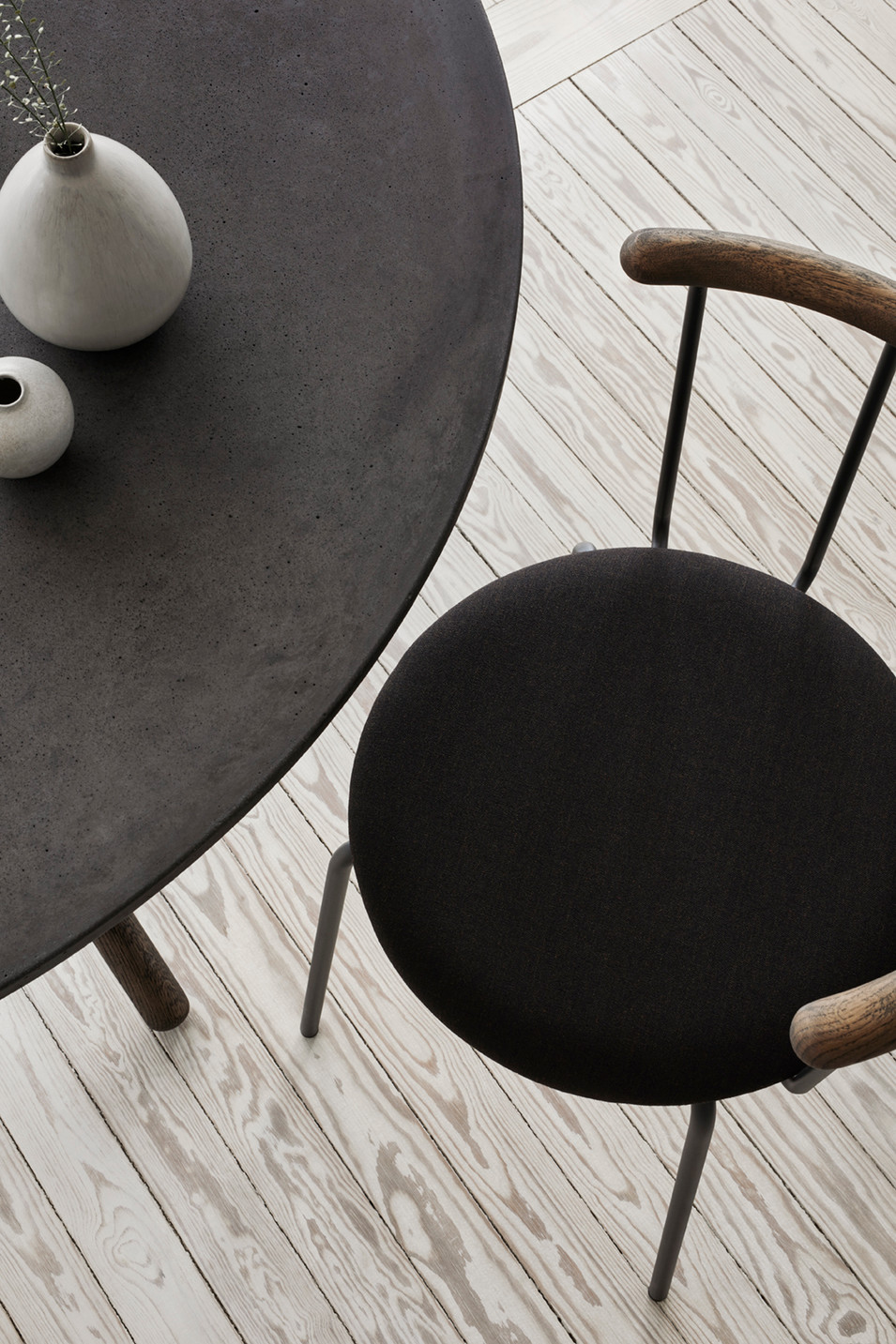 Babette Black - Dining chair from Eberhart Furniture