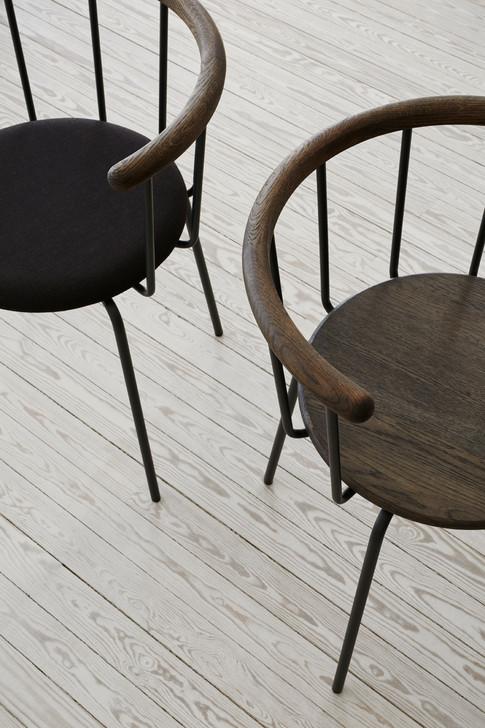 Babette dining chairs in dark shades