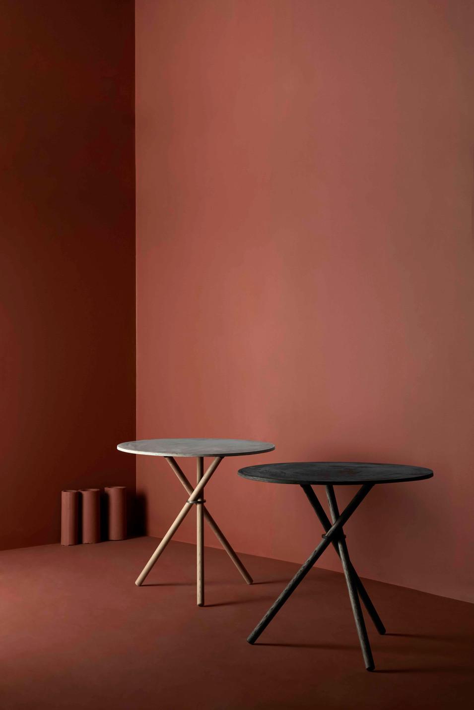 Pair of Aldric café tables