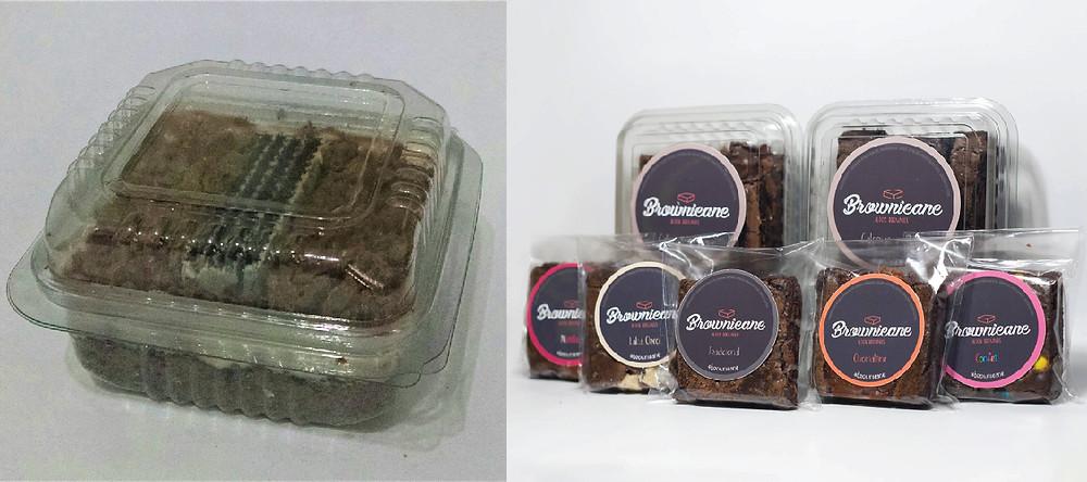 Embalagem brownie