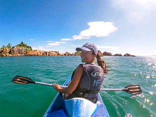 Danielle Silva - Kayak Palmas do Arvoredo