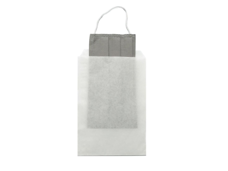 1 mask per paper bag