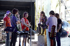 The Flaming Lips at soundcheck