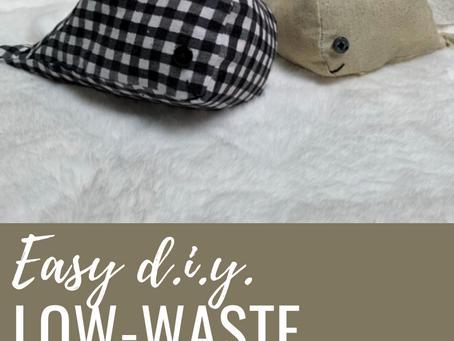 D.I.Y. Low-Waste Whale Plushie + Free Pattern