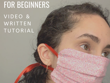 Easy D.I.Y. Face Mask for Beginners