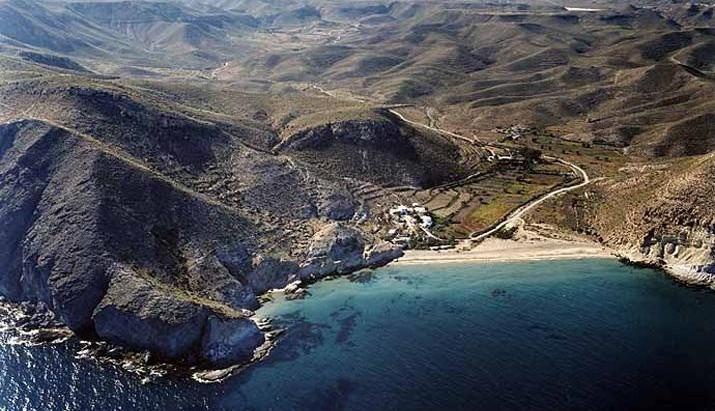 Les plages à proximité du Cortijo de los Murcias