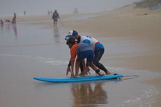 école de surf biscarrosse xperience gliss apprendre à surfer à biscarrosse