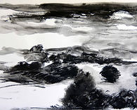 Journans 2015, 20x30, fusain, Christine Lévy-Rostagnat, (10)