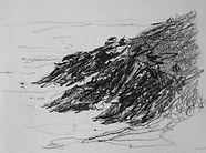 Bretagne La Trinité sur Mer 2016 20x30  mine de plomb Christine Lévy-Rostagnat