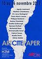 Affiche Art Cité Paper