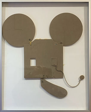"Claes Oldenburg, ""Mouse"", 1971, mixed media"