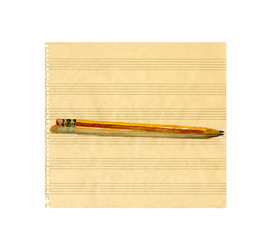 Music Paper and #2 Pencil