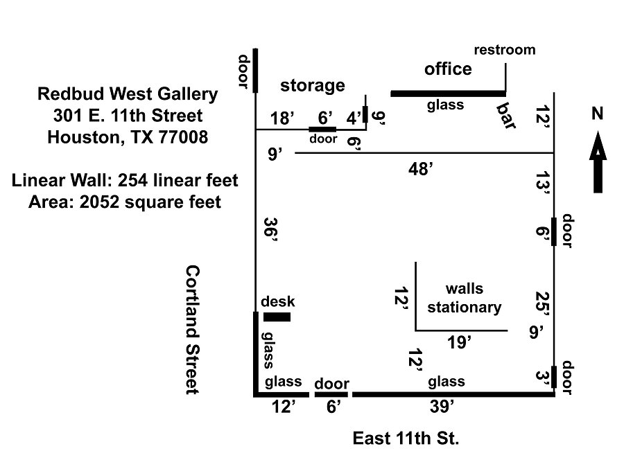 Redbud West Gallery Layout