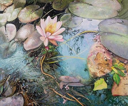 """Lily 2"", 2020, acrylic on canvas, 60"" x 72"""
