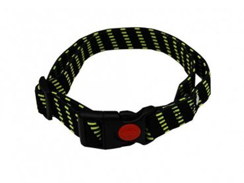CHAMELEON® ELASTIC ADJUSTABLE SNAP CLOSURE collar in yellow, orange and black