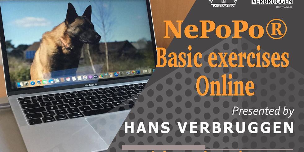 Basic exersices for sportdogs true NePoPo®