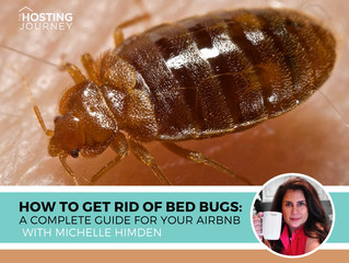 """The dreaded bed bugs..Yes, hosting community, it's the dreaded """"B"""" word"""