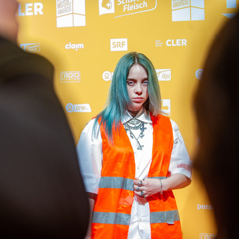 NZZ-Reportage > Billie Eilish Swiss Music Awards