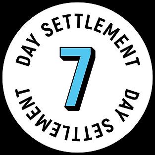 7 Day Logo Black With White BG Blue 7.pn